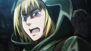 Armin durant l'entraînement Physique