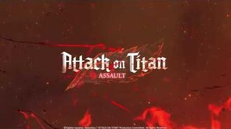 Join the epic battle in Attack on Titan- Assault
