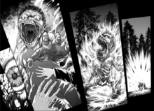 Eren transforms Grisha's death