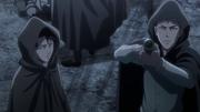 Jean et Livaï piègeant la brigade spéciale