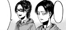 Hanji ärgert Levi, als sie Trost verlassen