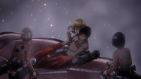 Armin unable to take Eren