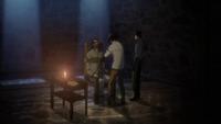 Levi und Hanji foltern Sanes
