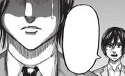 Mikasa surprend Eren pleurer