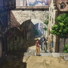 Armin es molestado por unos bravucones.