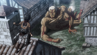 Reiner decides he will have to defeat his former comrades