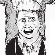 Company man character image