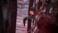 Levi survives the bombardment