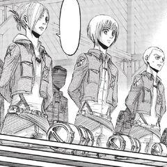 Armin en una inspección de equipos de maniobras tridimensionales.