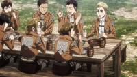 Erwin as a cadet