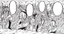 Mahr Commandant et cadets guerriers