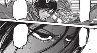 Mikasa's resolve