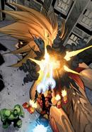 Iron Man kills the Female Titan