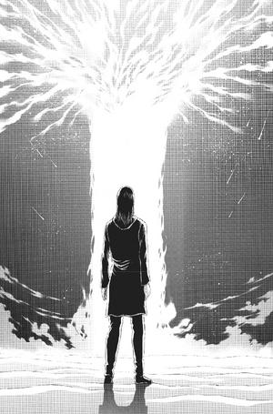 Eren arrives at the Coordinate