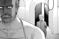 Reiner meets his father