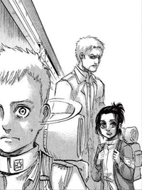 Falco looks away from Reiner
