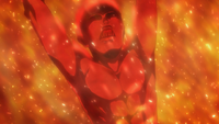 Armin is scorched alive