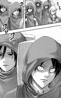 Eren's escape