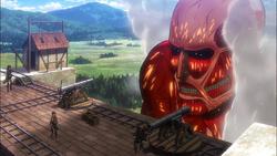 Der kolossale Titan taucht erneut auf
