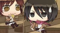 Mikasa wonders what body type Eren likes