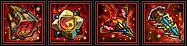 Артефакты красный ранг