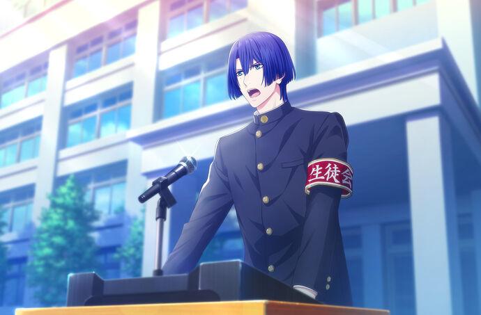 Masato Hijirikawa (Student Council President) CG