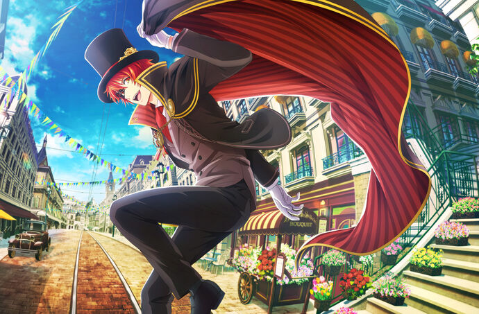 Otoya Ittoki (Gentle Phantom Thief) CG