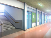Bg schoolhallway