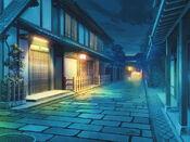 Bg japanesetown a night