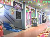 Bg schoolhallway festival