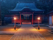 Bg shrine night