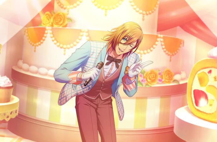 Ren Jinguji (Sweet Cafe) CG