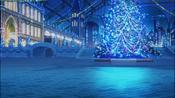Bg christmasquare night