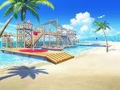 Bg beach marine