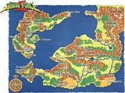 Shining Force II Map