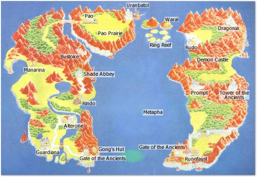 Rune Map