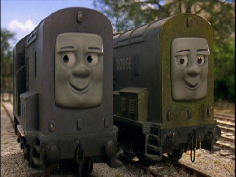 Splatter and Dodge | Shining Time Station Wiki | FANDOM powered by Wikia