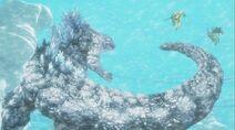 Snow Godzilla