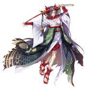 Chika Mikazuki Demonblade copy