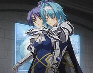 Kurumi and Yuki's Sister Moment