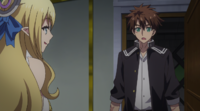 Anime Episode 10 Basara and Liala First Meeting
