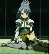 Kurumi Watching Over Basara