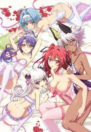 The Girls in TToSND Burst Poster