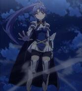 Kurumi Saving Basara in Burst Episode 1