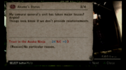 LA status, Samurai generals unit taken major losses, 24%