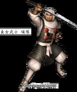 Sadame samurai leader