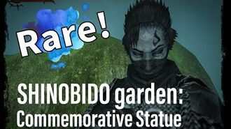 Shinobido Secret Garden items- Goh Commemorative Statue