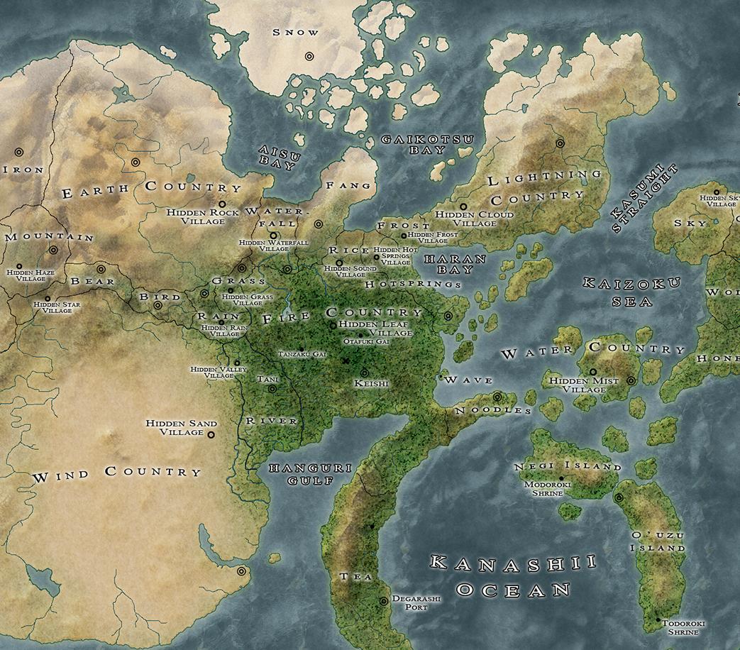 Image - Naruto-World-Map.png | ShinobiWorldsCollide Wiki | FANDOM ...