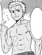 Tatsuo in the manga