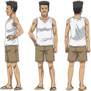 Ayami's father spin